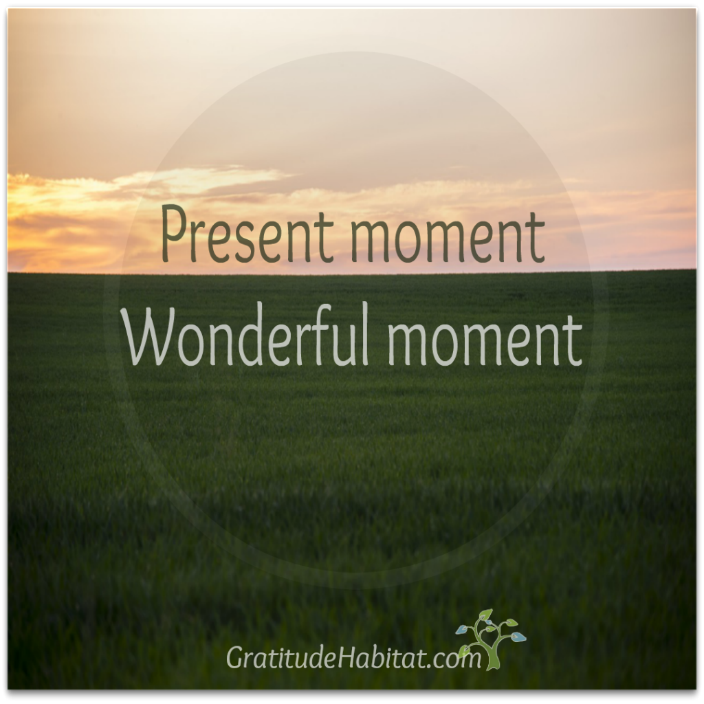 present moment zen quote